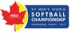 Softball - Men's World Championship - 2017 - Home
